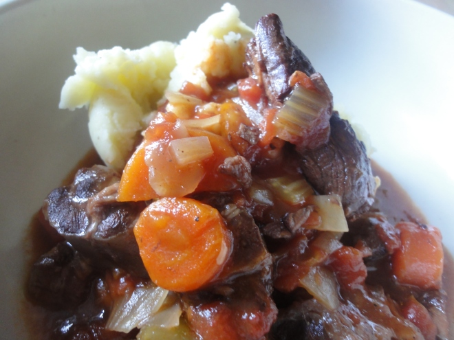 Beef stew (with mash)