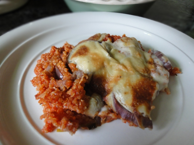 Quinoa moussaka