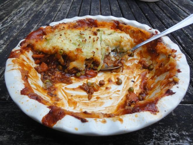 Shepherd's Pie (mostly eaten!)